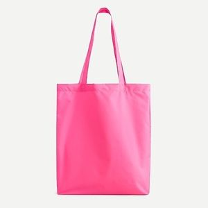 J. Crew Recycled Reusable Lightweight Tote Bag
